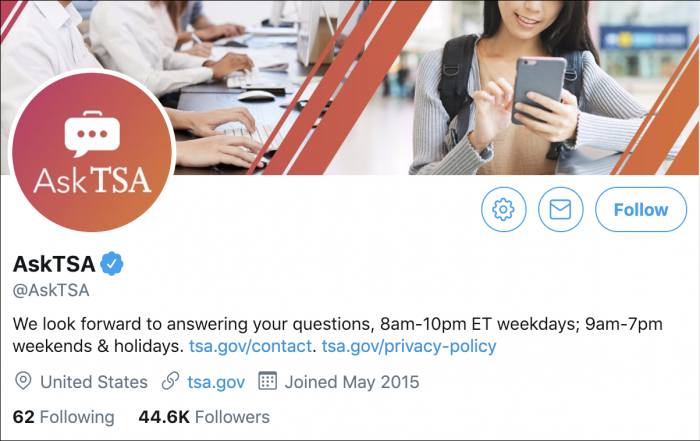 Twitter AskTSA government shutdown 2019