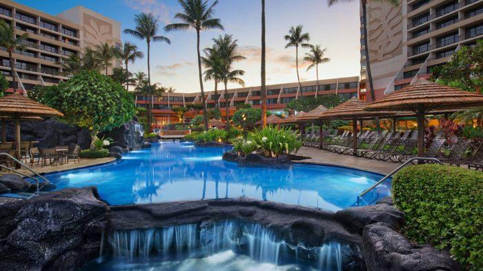 spring break destination Marriott's Maui Ocean Club